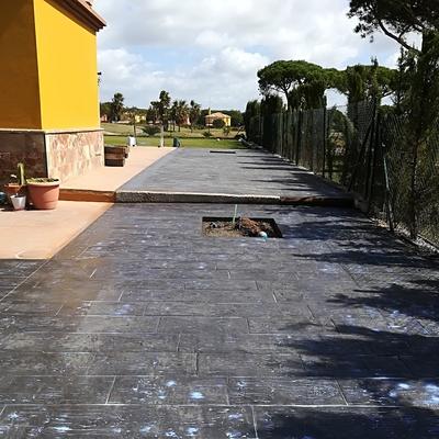 Último trabajo acabado en Chiclana de la Frontera