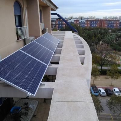 Autoconsumo Fotovoltaico en ÁTICO  Valencia