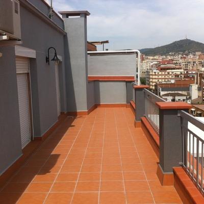 Acabado terraza sobreático