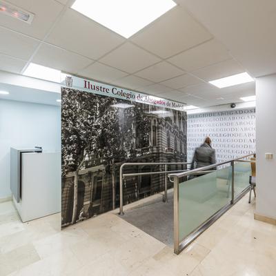 Reforma de las oficinas del Colegio de Abogados de Madrid