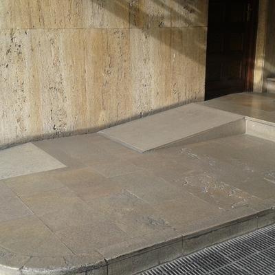 Zaguán accesible en Valencia