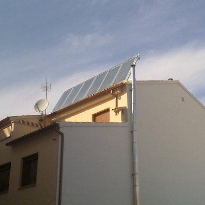 Instalación para ACS - Calefacción y calentamiento piscina en Madridejos
