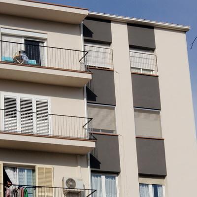 actuación en fachadas.