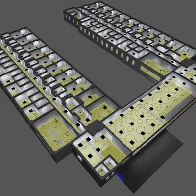 Estudios lumínicos de varios edificios