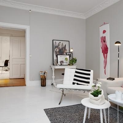 Convierte tu casa en un espacio elegante sólo con la ayuda de un espejo