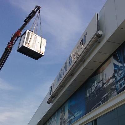 Sustitución de aire acondicionado en BMW Petrer
