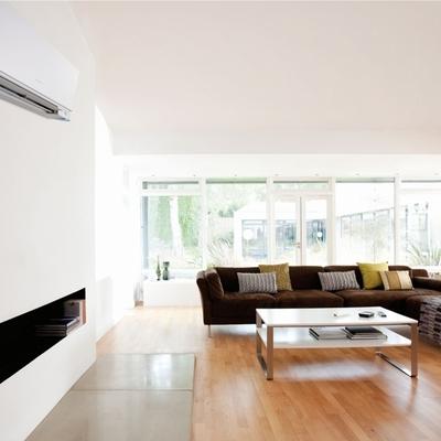 aire acondicionado en el salon