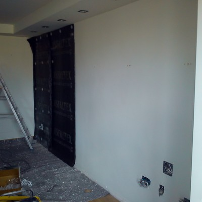 Aislamiento acustico en pared (tabica)