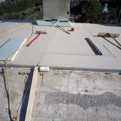 aislamiento termico y tableros hydrofugos.