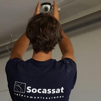 Instalación de cámaras de seguridad en garajes
