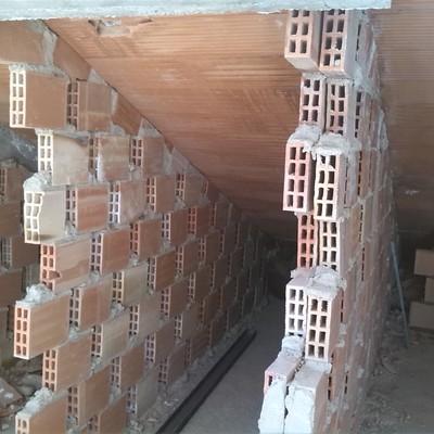 Ampliación de habitación en tejado abuardillado