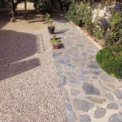 Albañilería en jardines