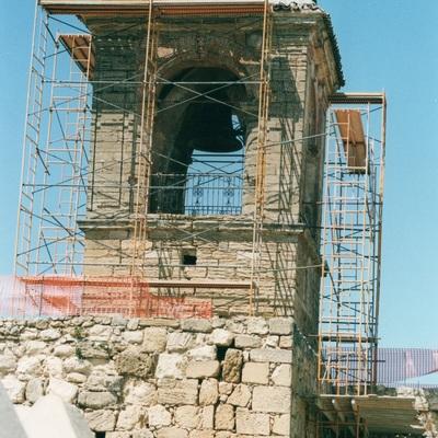 Restauración del Chapitel de La Alcazaba de Antequera (Torre del Homenaje)