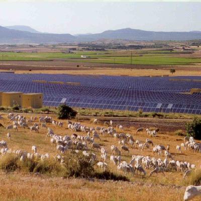 Huertos solares fotovoltáicos en Madrid