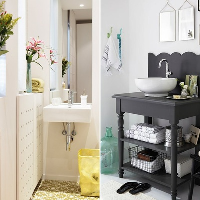 Muebles almacenaje baño