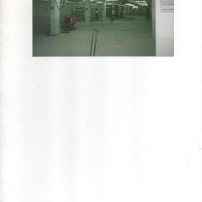 Proyecto de instalación de nave textil en Vilada