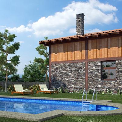 Casas De Madera En Municipio De Soria