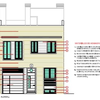 Vivienda unifamiliar entremedianeras en urbanización San Rafael de la Albaida