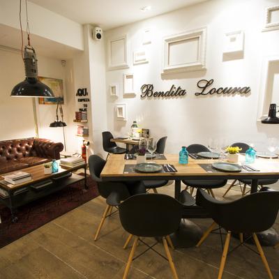 Bendita Locura, un restaurante vintage e industrial