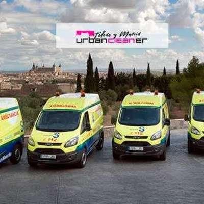 Desinfección Ambulancias
