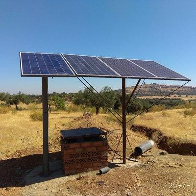 Ampliación de bombeo solar para riego directo