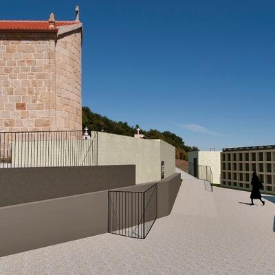 Ampliación de Cementerio de Cortegada, Silleda (Pontevedra).
