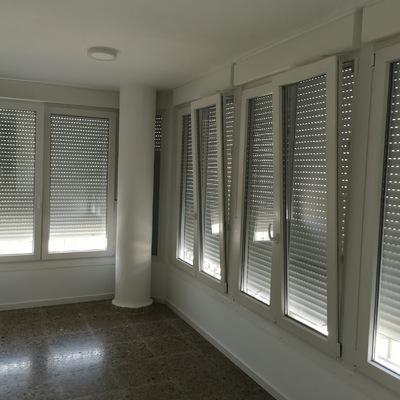 Ampliación de terraza con PVC