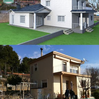 Carpenter House, Ampliación vivienda en Cervelló (Barcelona)