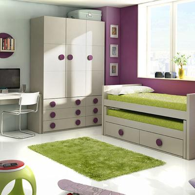 Amueblamiento De Dormitorio Juvenil Para Particular