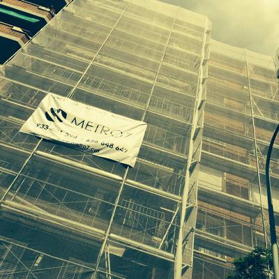 Rehabilitación de fachada en Barcelona