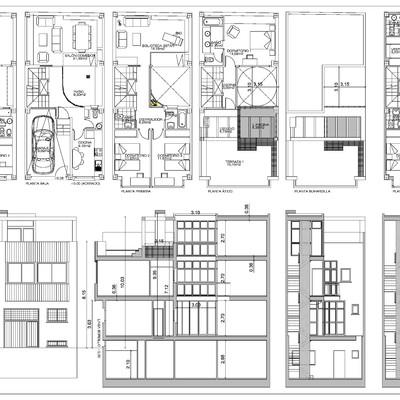 Redacción de Proyecto de Demolición, Básico y de Ejecución de Vivienda Unifamiliar entre Medianeras en C/ Romero de Torres 12