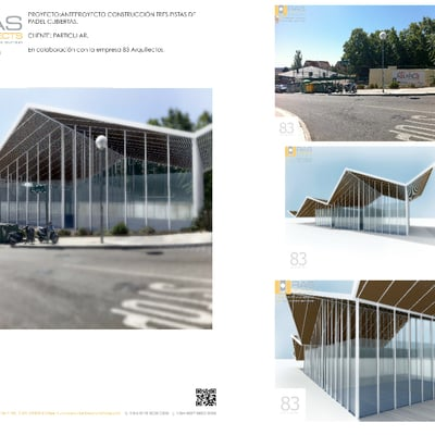 Anteproyecto Construcción Pistas De Padel Cubiertas.