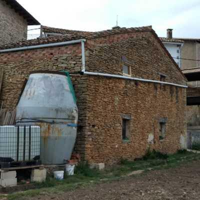 Rehabilitación de pajar a vivienda en Lezaún