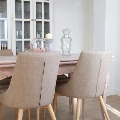 Antes y después de un comedor (pero con los mismos muebles)