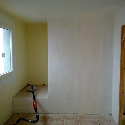 Antes de pintar.