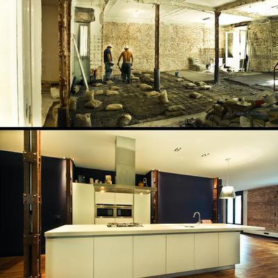 Reforma de un loft de 165 m2