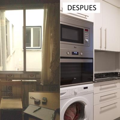 Reforma de una cocina en Madrid