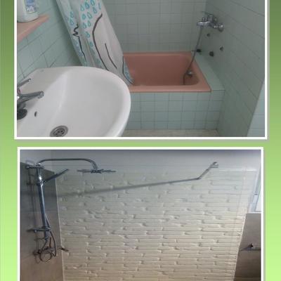 ampliación de ducha