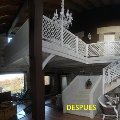 Decoración y obra en hotel rural