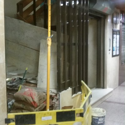 Instalación de ascensor en calle Don Sancho 5 Palencia