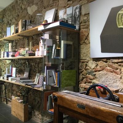 Un taller de encuadernación tradicional