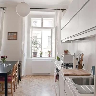 Apartamento cocina lineal