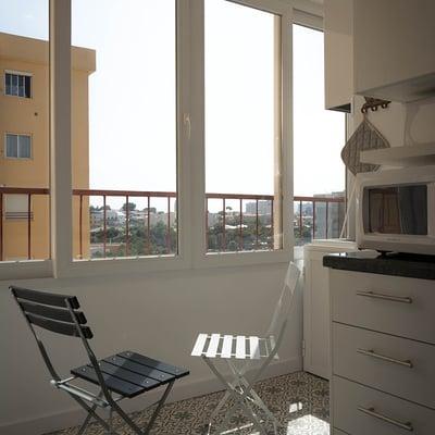Reforma de un apartamento con suelos de baldosa hidráulica