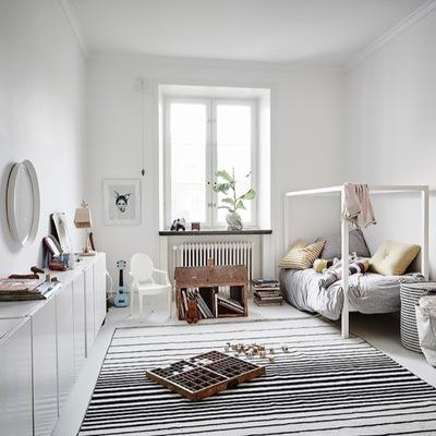 Apartamento de estilo nórdico diseñado por y para el descanso