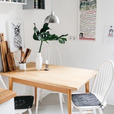 Un estiloso apartamento con aire vintage
