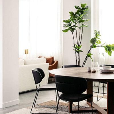 Consejos para crear una zona de comedor en un salón pequeño
