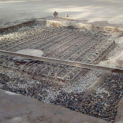 Arqueta de Alta tensión de servicio a horno rotativo de clinker en industria cementera.