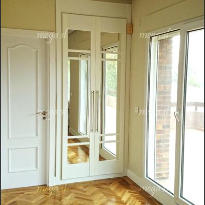 Ideas de interiores de armario para inspirarte habitissimo - Lacado de puertas en blanco ...