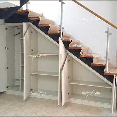 Ideas de hacer armario a medida para inspirarte habitissimo for Closet en escaleras