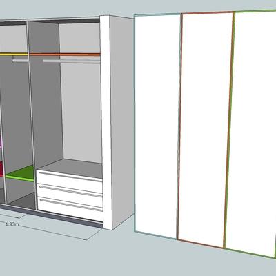 Diseño y realización de un armario a medida